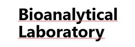 Logo of Bioanalytical Laboratory